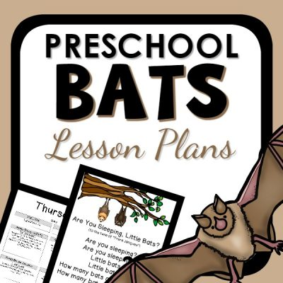 Bats Preschool Lesson Plan