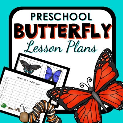 Butterfly Preschool Cover