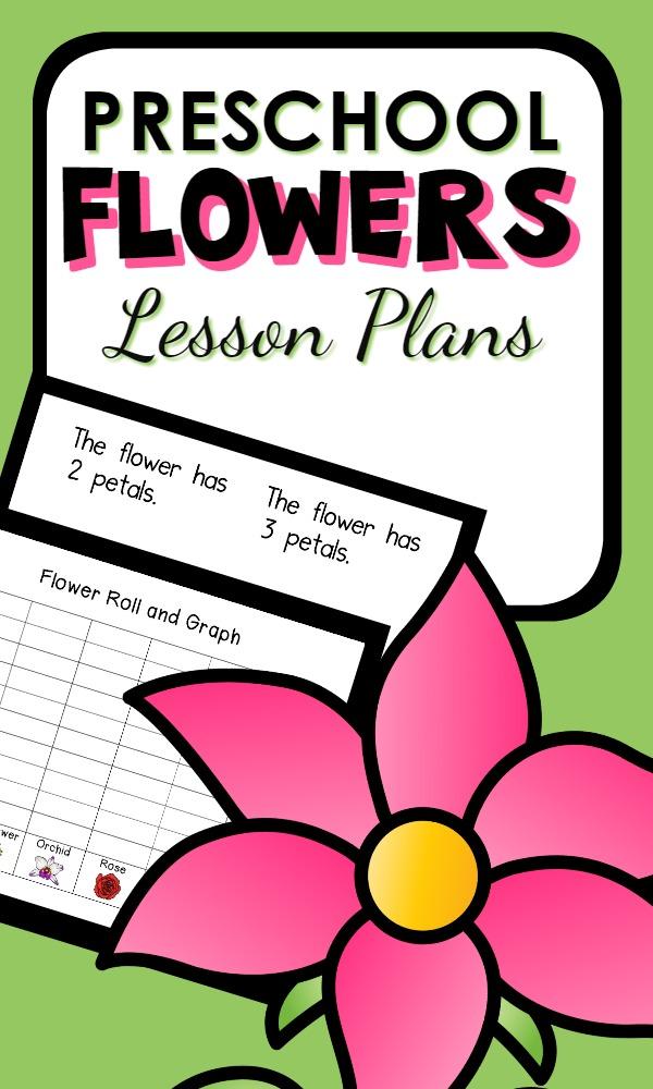 Pre Planned Flower Garden Designs: Flower Theme Preschool Classroom Lesson Plans