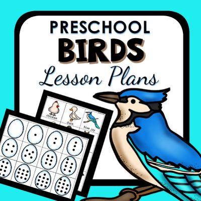 Preschool Birds Lesson Plans_cover