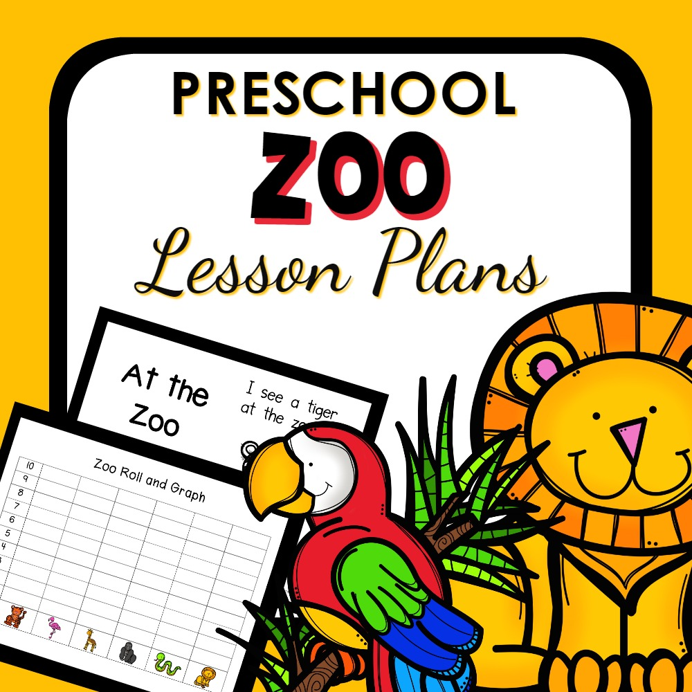 Zoo Theme Preschool Classroom Lesson Plans on Animal Sorting Game