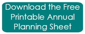 Download annual planning sheet