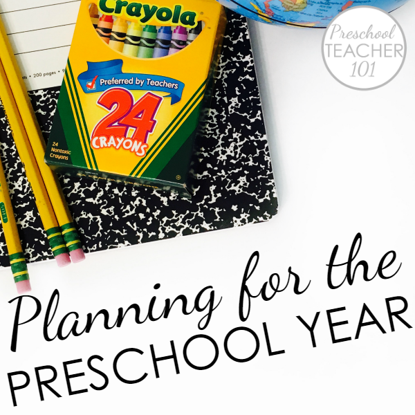 Preschool Planning for the Year