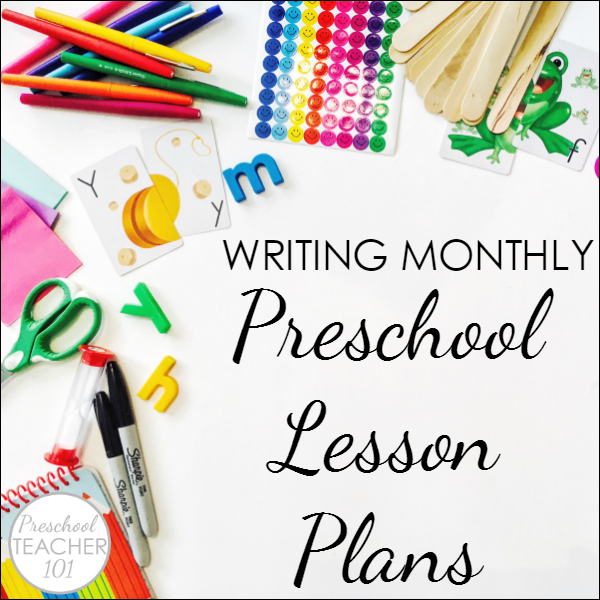 Writing monthly lesson plans for preschool