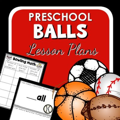 Ball Theme Lesson Plans for Preschool