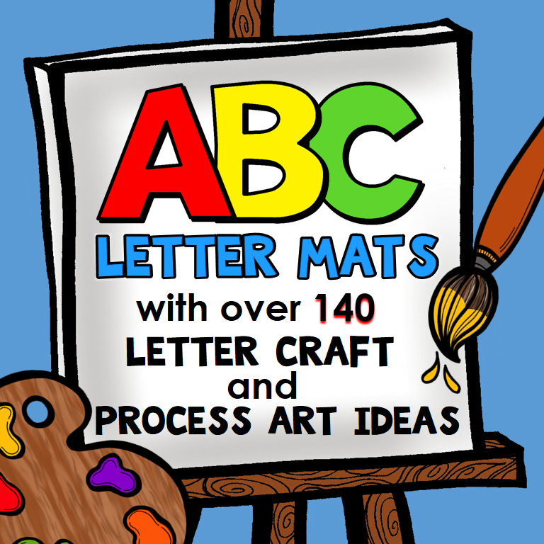 Preschool Teachers ABC Letter Mats