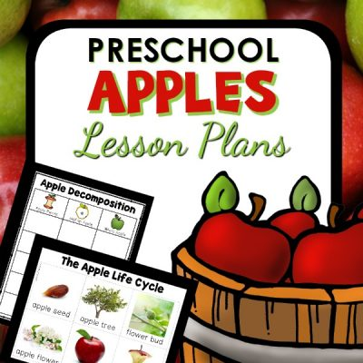 Apple Theme Preschool Lesson Plans