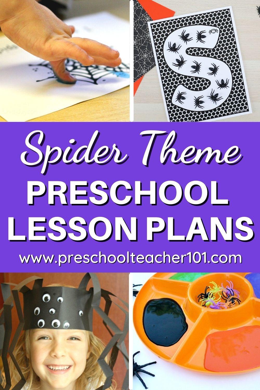 Preschool LP - Spider Theme