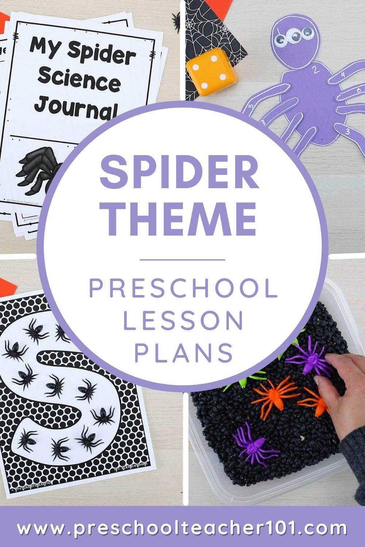 Spider Theme Preschool LP
