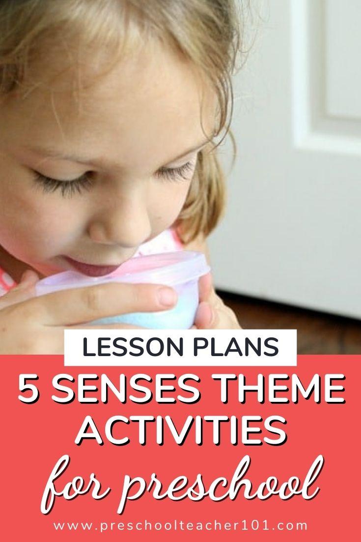 5 Senses Theme Activities for Preschool