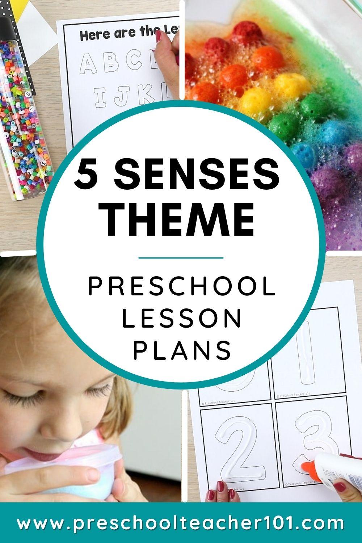 5 Senses Theme - Preschool LP