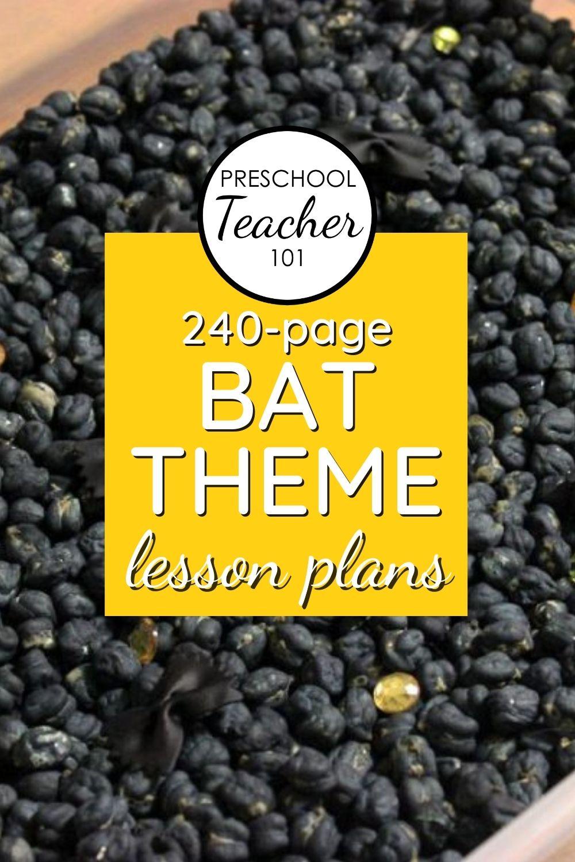 Bat Theme Lesson Plans