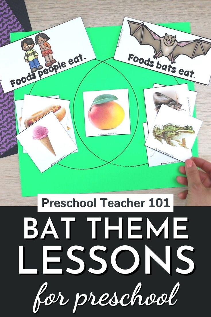 Bat Theme Lessons for Preschool