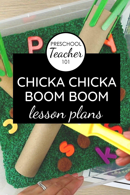 Chicka Boom Theme Lesson Plans
