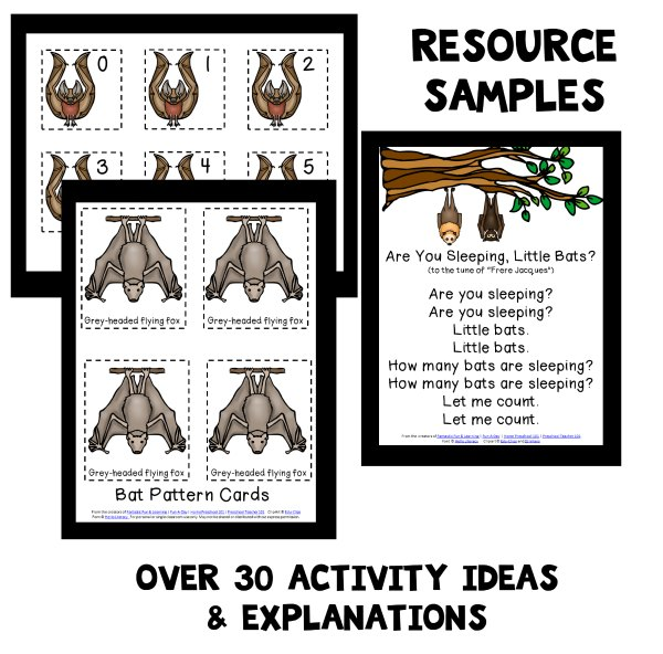 Bat Activities for Preschool