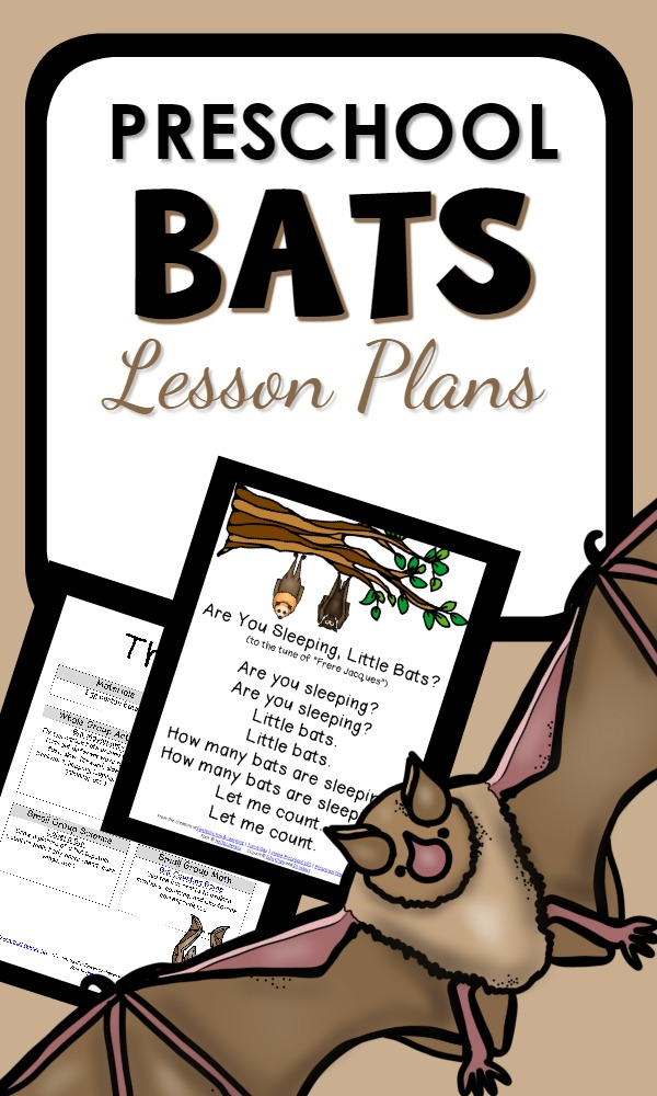 Bat Theme Lesson Plans for Preschool