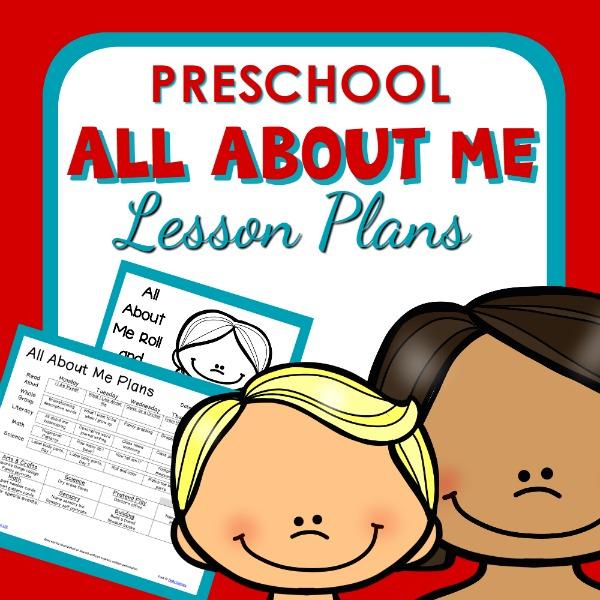 all about me theme preschool classroom lesson plans preschool