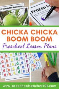 Preschool Lesson Plans - Chicka Boom Theme