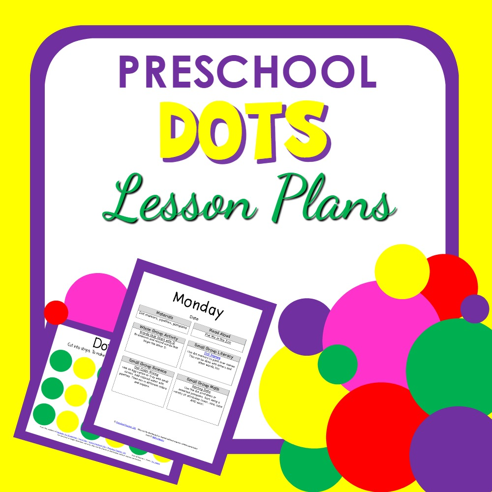 D is for Dots Preschool Lesson Plans