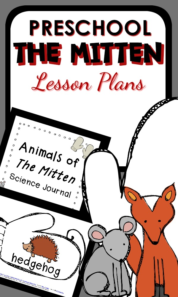 Preschool Lesson Plans-The Mitten Activities