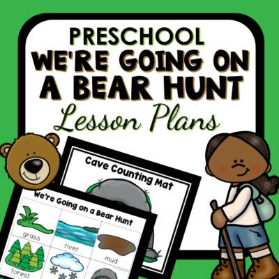 Bear Hunt-Lesson Plans-Cover