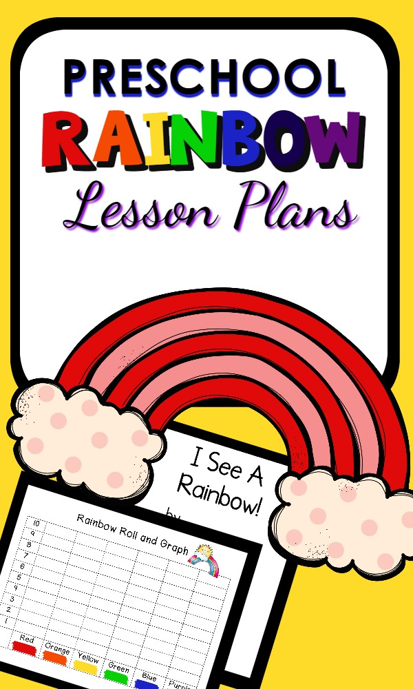 Have fun learning about colors and rainbow science with a full week of playful preschool classroom lesson plan ideas. Great for St. Patrick's Day or a spring theme