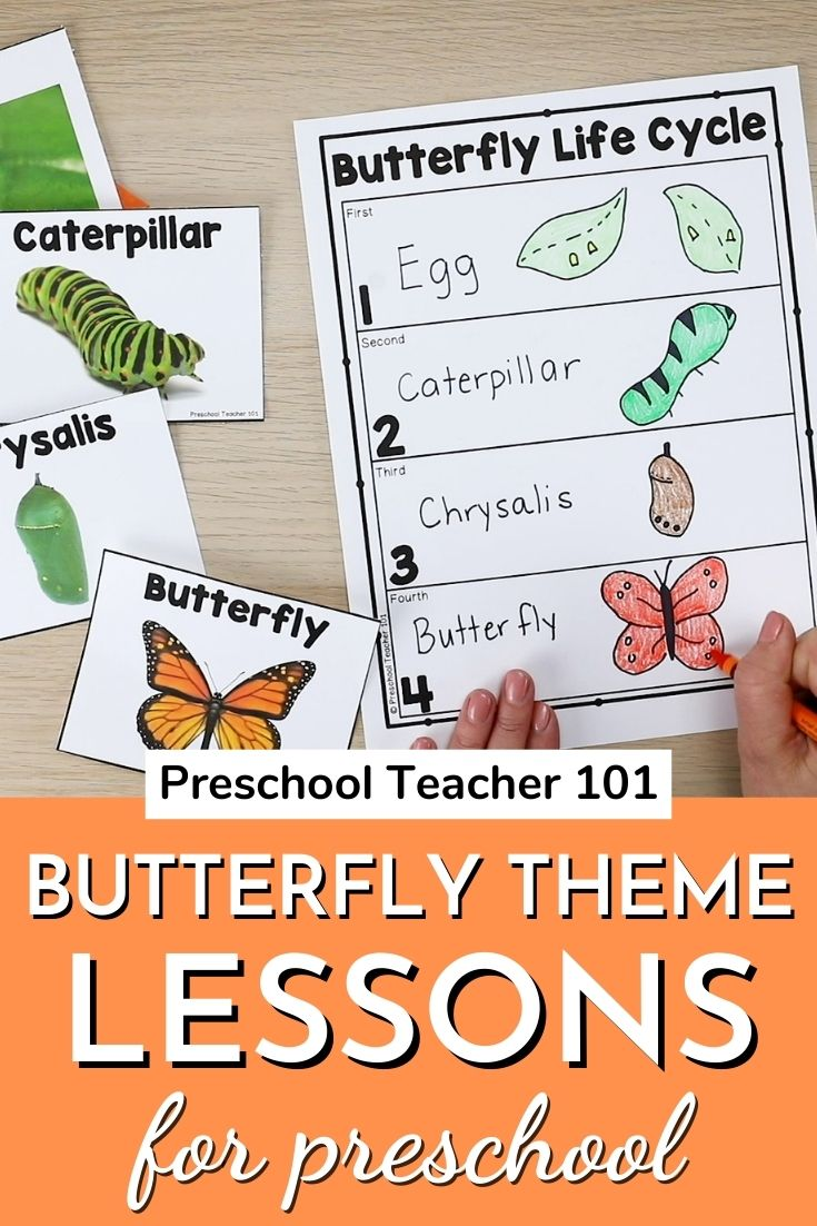 Butterfly Theme Lesson Plans for Preschool