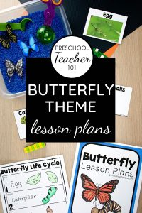 Butterfly Theme Preschool Activities