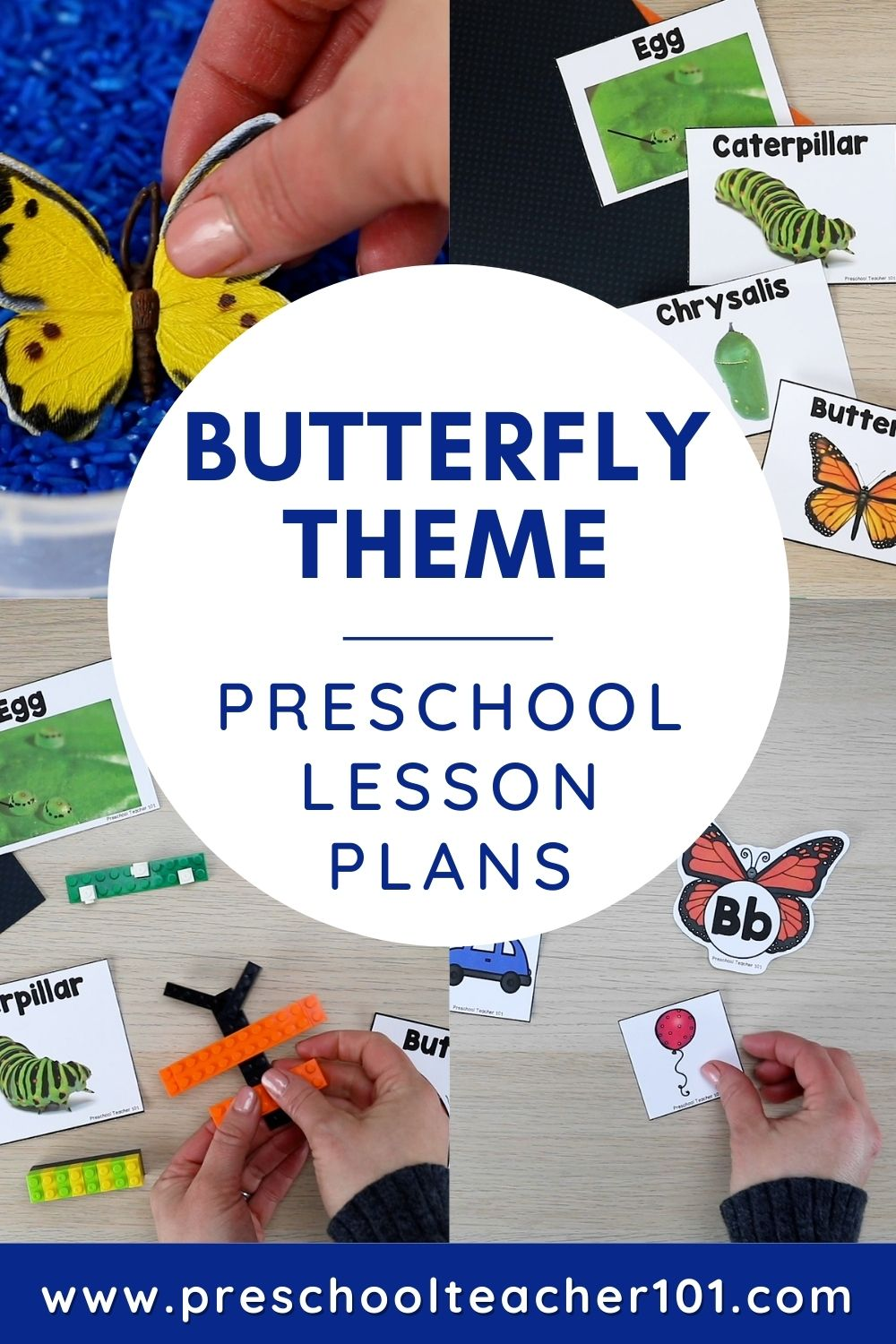 Preschool Butterfly Theme Activities