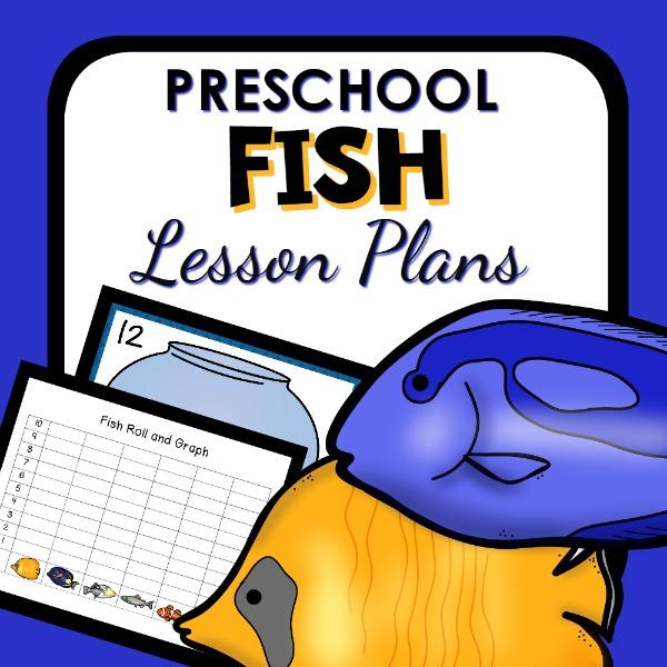 Fish theme preschool classroom lesson plans preschool for Reading blueprints 101