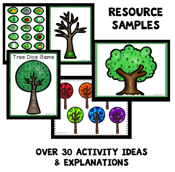 Tree Theme Preschool Classroom Lesson Plans - Preschool ...