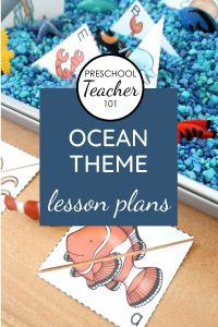 Ocean Theme Lesson Plans