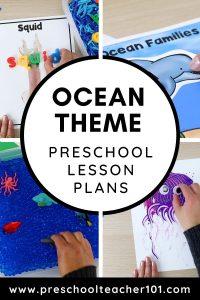 Oceans - Preschool Lesson Plans