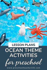 Oceans Theme Activities for Preschool