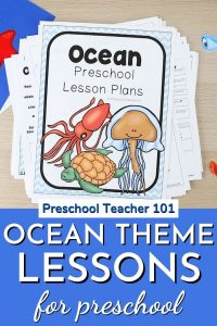 Oceans Theme Lessons for Preschool
