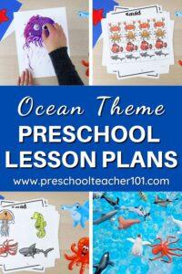 Oceans Theme Preschool Lesson Plans