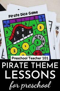 Pirate Theme Lessons for Preschool
