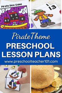 Pirate Theme - Preschool LP