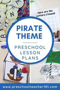 Pirate Theme - Preschool Lesson Plans