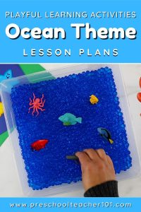 Playful Learning Activities - Oceans