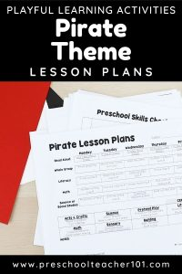 Playful Learning Activities - Pirate Theme Lesson Plans