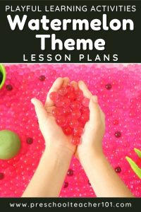Playful Learning Activities - Watermelon Theme