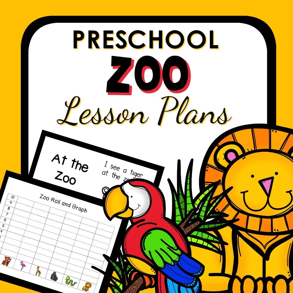 Zoo Theme Preschool Classroom Lesson Plans