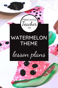 Watermelon Theme lesson plans