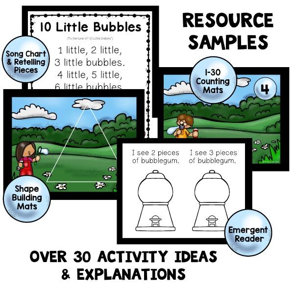 Bubble theme preschool classroom lesson plans preschool for Reading blueprints 101