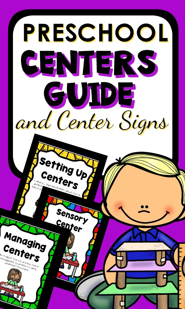 Preschool Centers Guide-The go-to resource for planning for, organizing and managing preschool center time