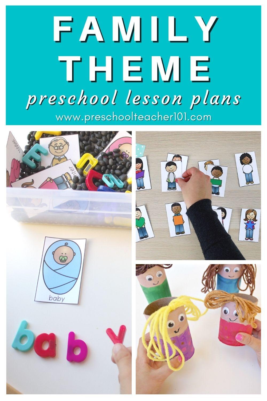 Family Theme - Preschool Lesson Plans
