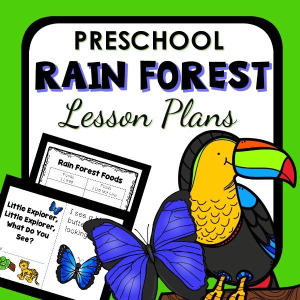 preschool rainforest lesson plans forest theme preschool classroom lesson plans 195