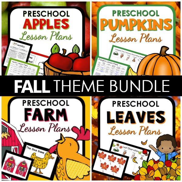 Fall Lesson Plans BUNDLE