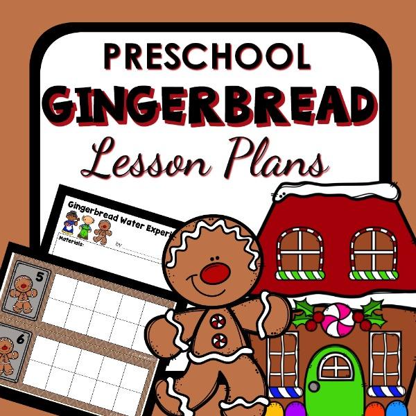 Gingerbread Man Preschool Activities